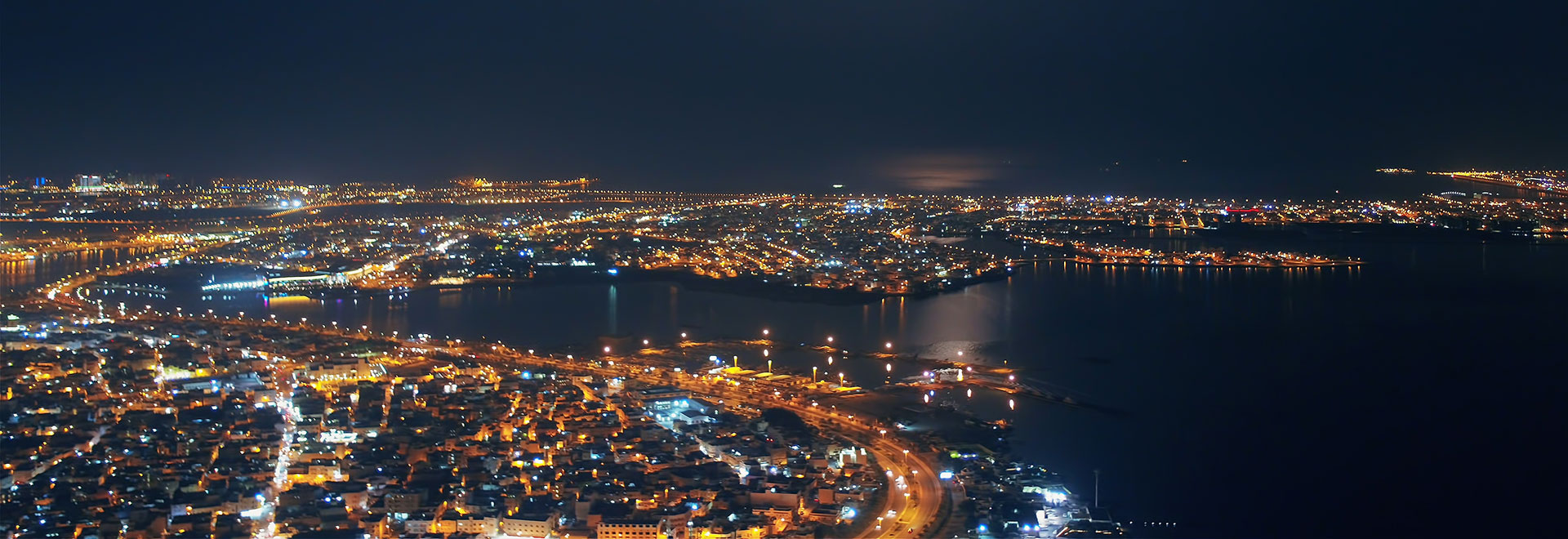 aerial-night-manama-world-trade-center-2